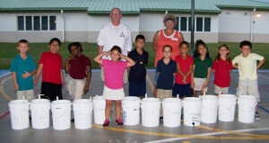 Treasure Coast Elementary bucket gardens 015