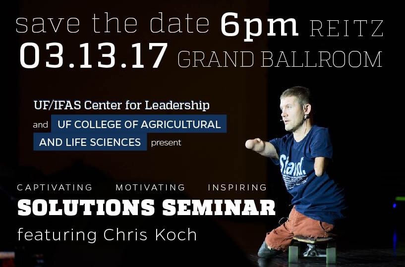 Chris Presenting - Save the date