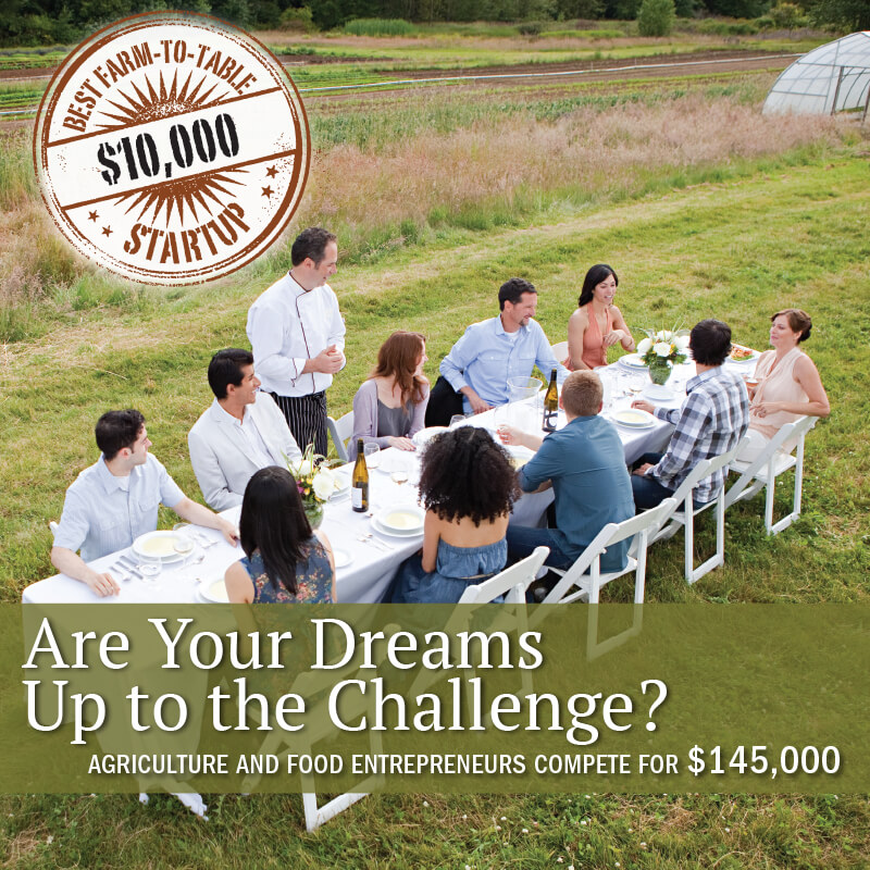 Apply for Best Farm-to-Table Startup