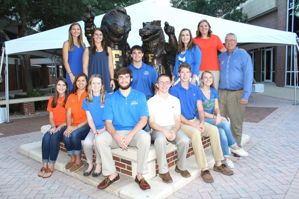 A Group of 2016 Tobacco Scholarship Recipients
