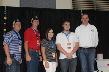 Finalists pictured with Congressman Tom Rooney. From right: Michael Rogalsky, Christian Spinosa, Kaylee Norris, Brendan Register and Tom Rooney.